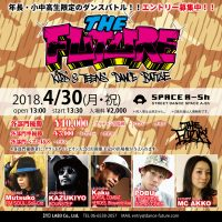 THE FUTURE 2018.4/30 @ SPACE A-Sh