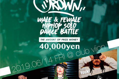 『THE CROWN 2019』vol.3 2019.6/14